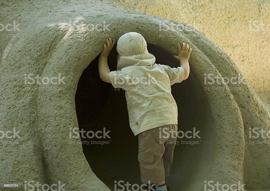 nosy kid stock photo