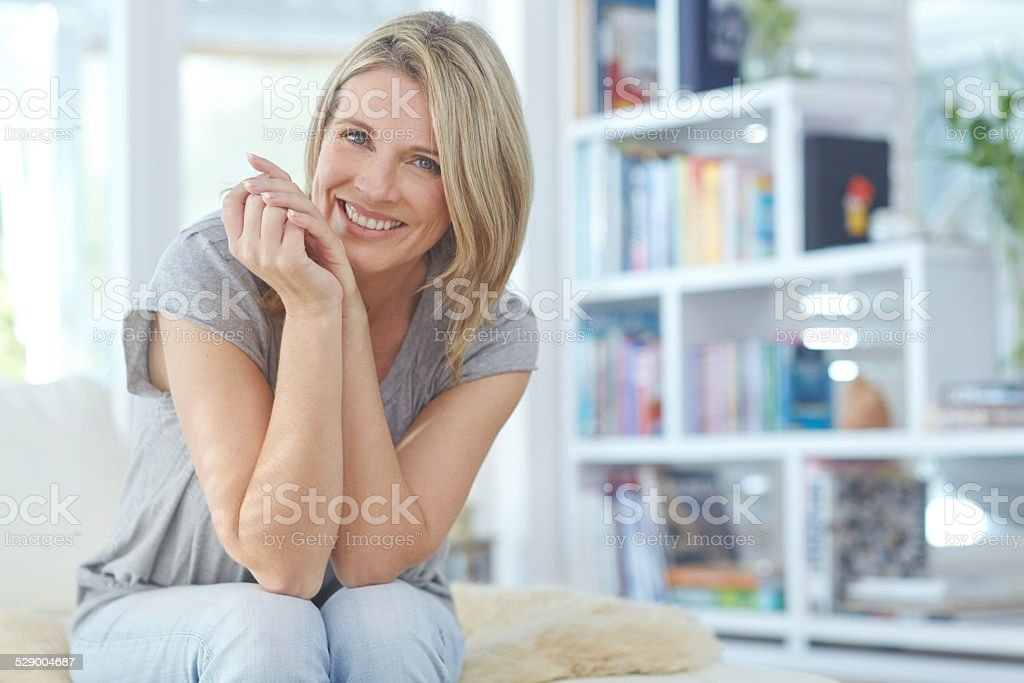 Not a care in the world stock photo
