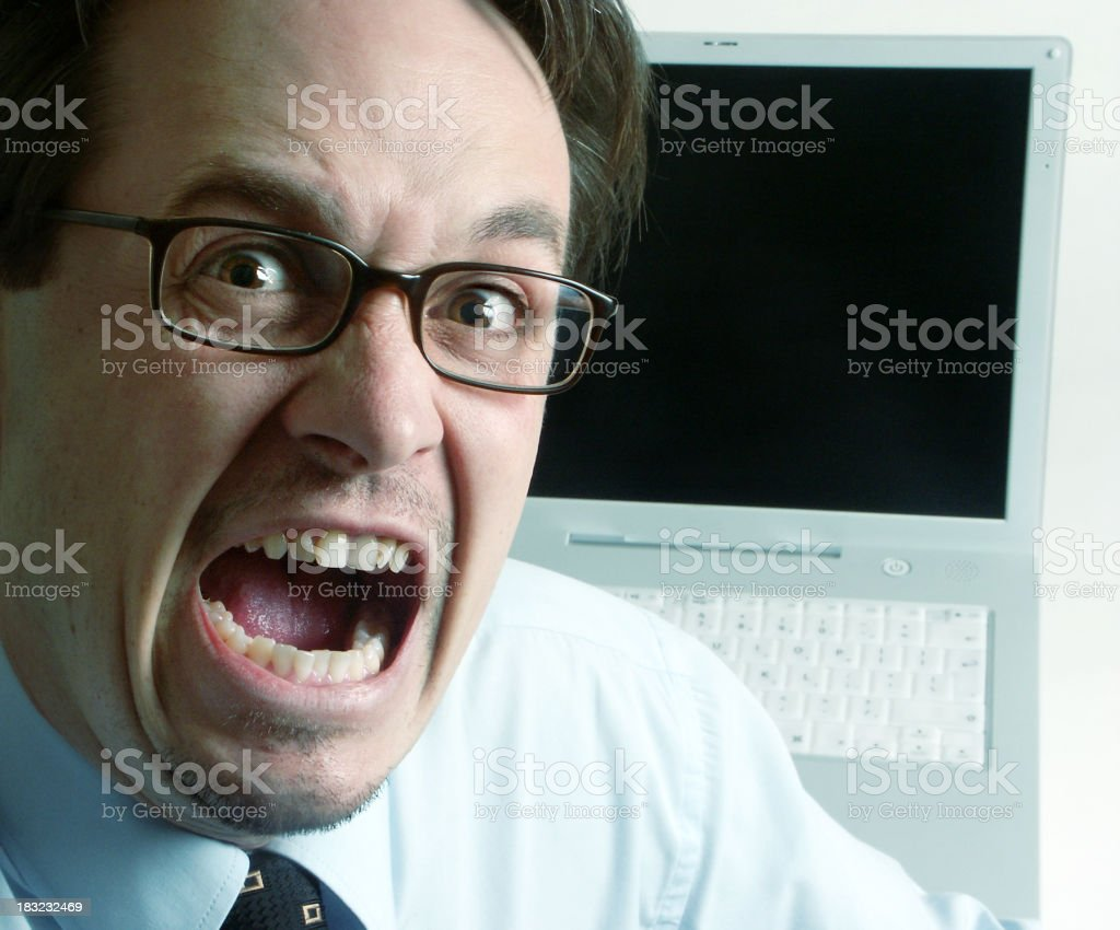 OH NO! Not again! royalty-free stock photo