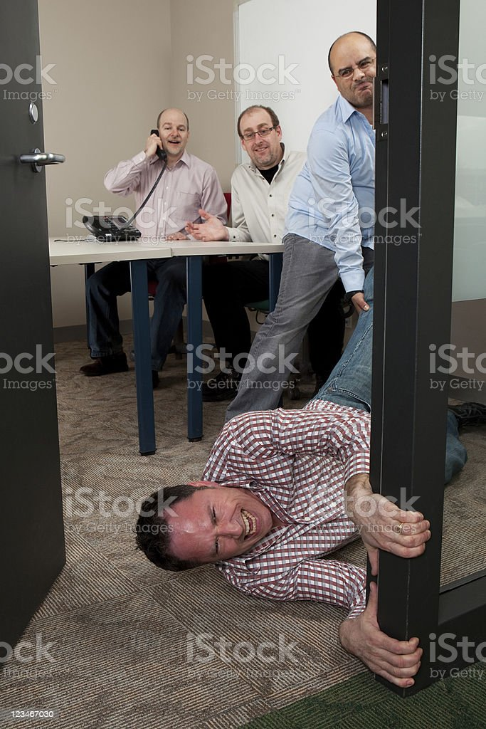 Not another meeting or You`re Fired stock photo