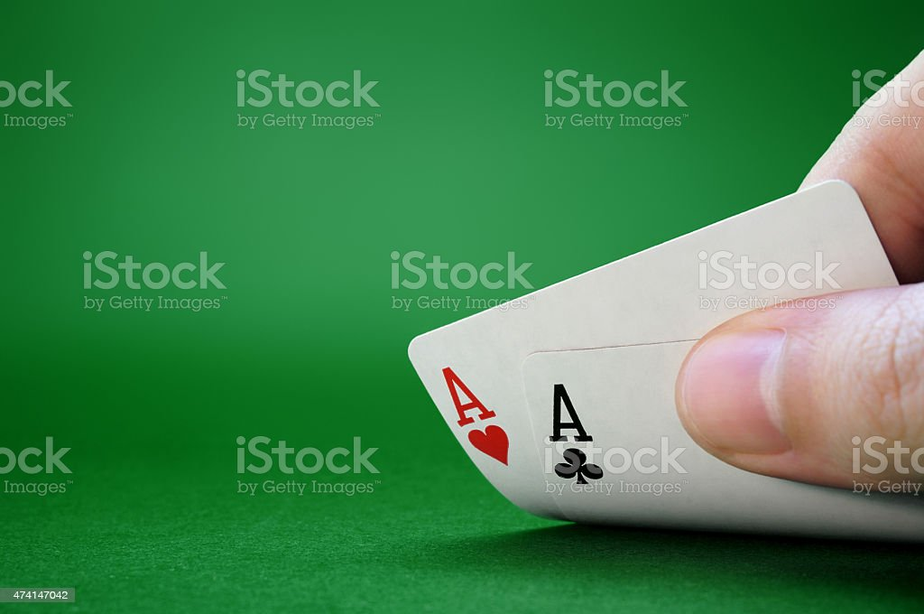 Not Bluffing stock photo