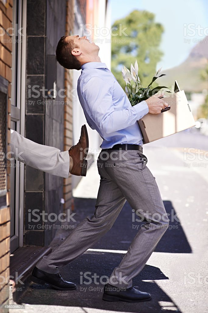 Not even a thank you for all your hard work stock photo