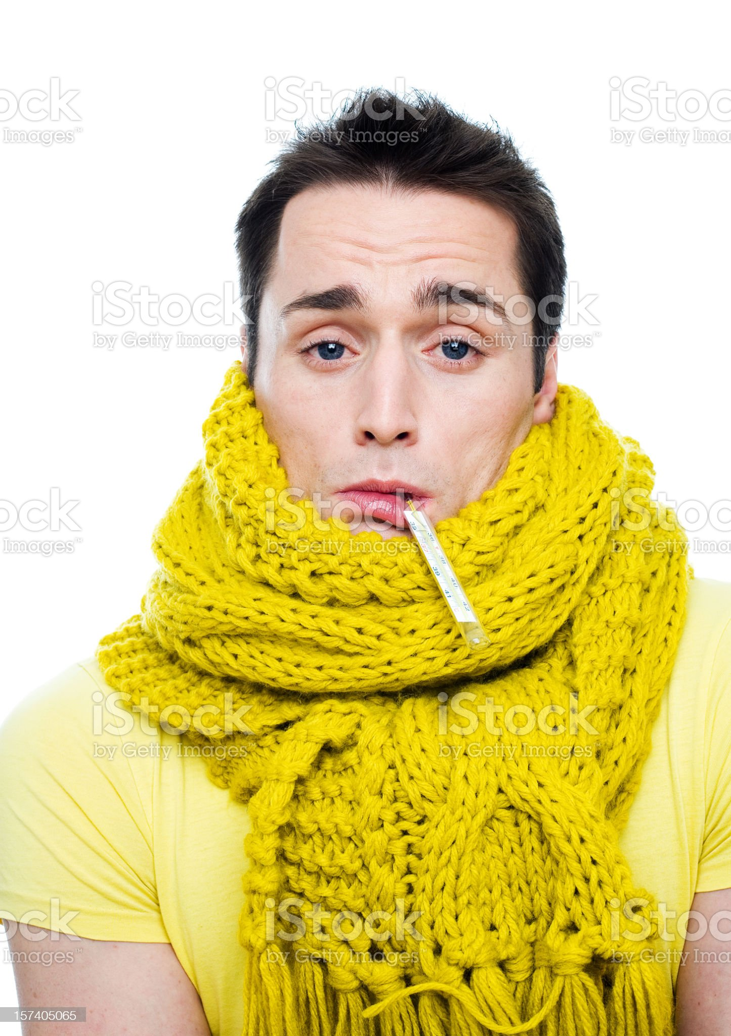 Not feeling well royalty-free stock photo