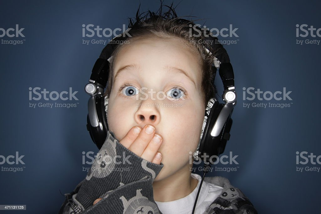 Not for young ears stock photo