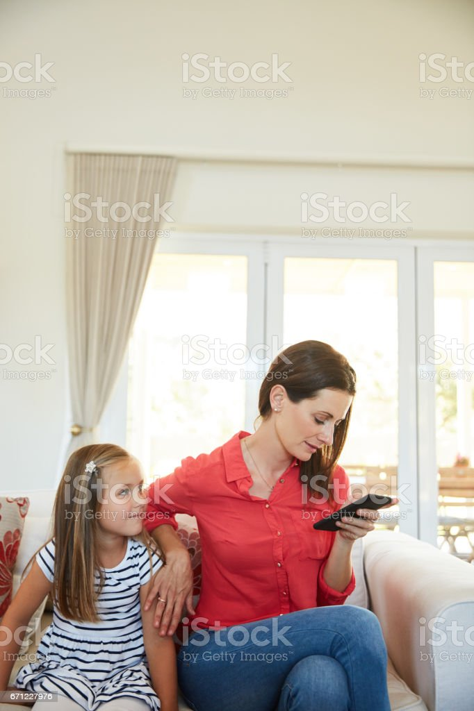 Not getting enough attention stock photo