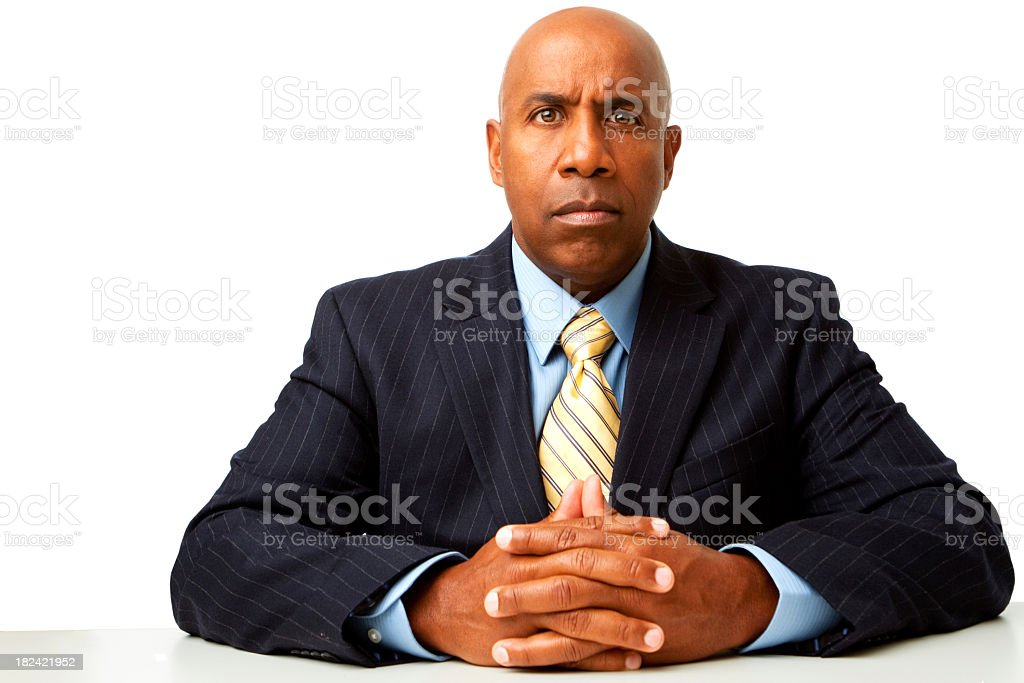 Not having a good day royalty-free stock photo