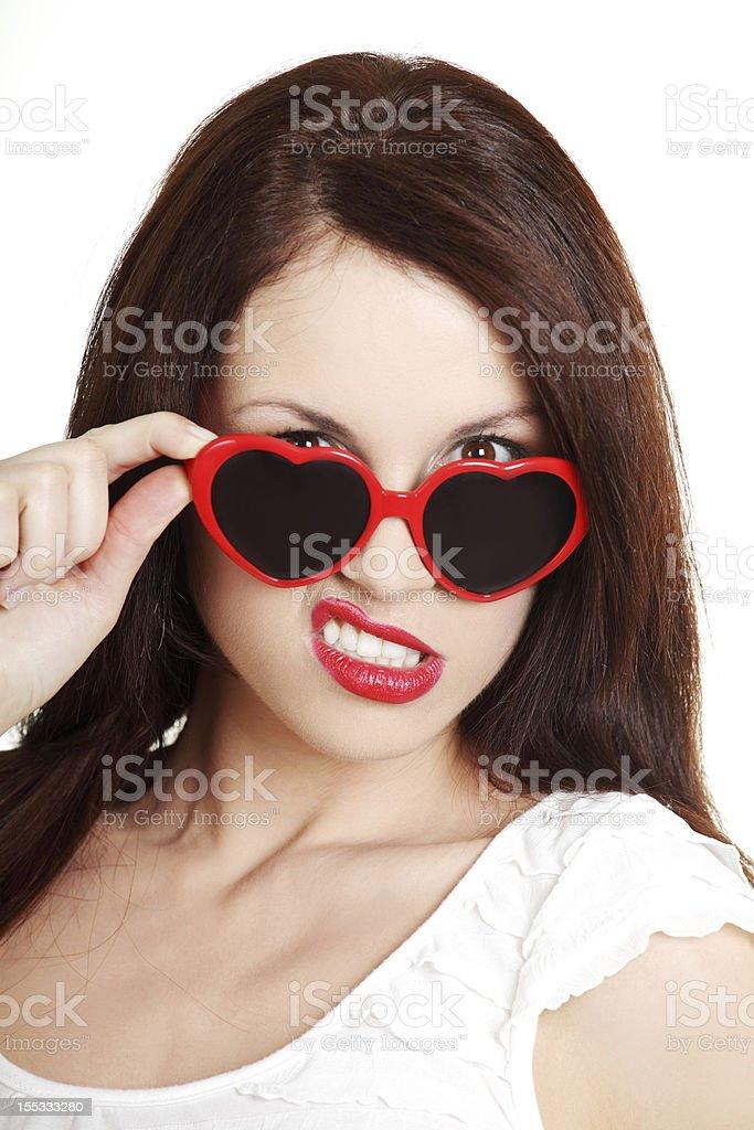 Not in love stock photo