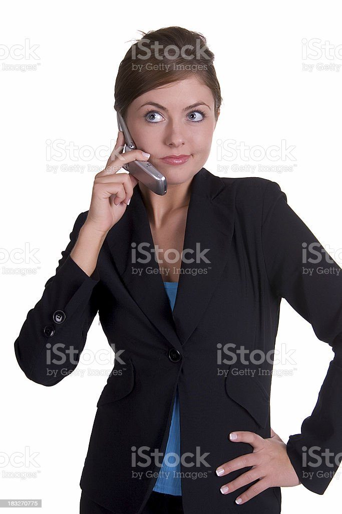 Not Interested royalty-free stock photo