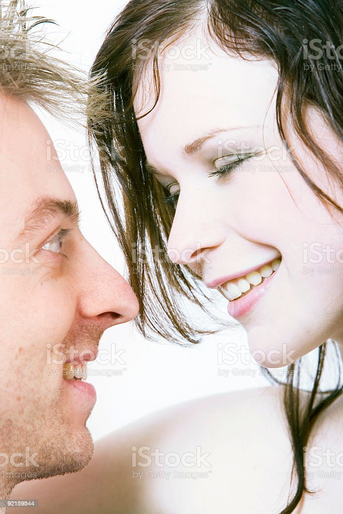 not just friends royalty-free stock photo