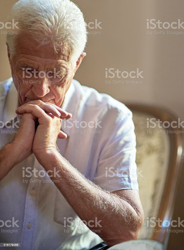 Not knowing what tomorrow holds stock photo
