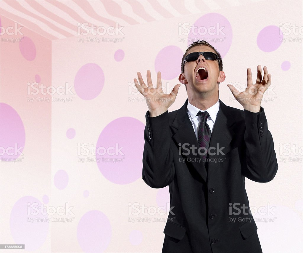 Not Pink!! royalty-free stock photo
