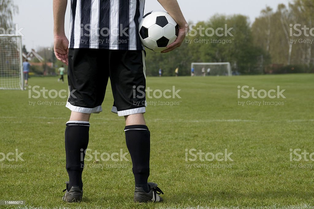 Not playing royalty-free stock photo