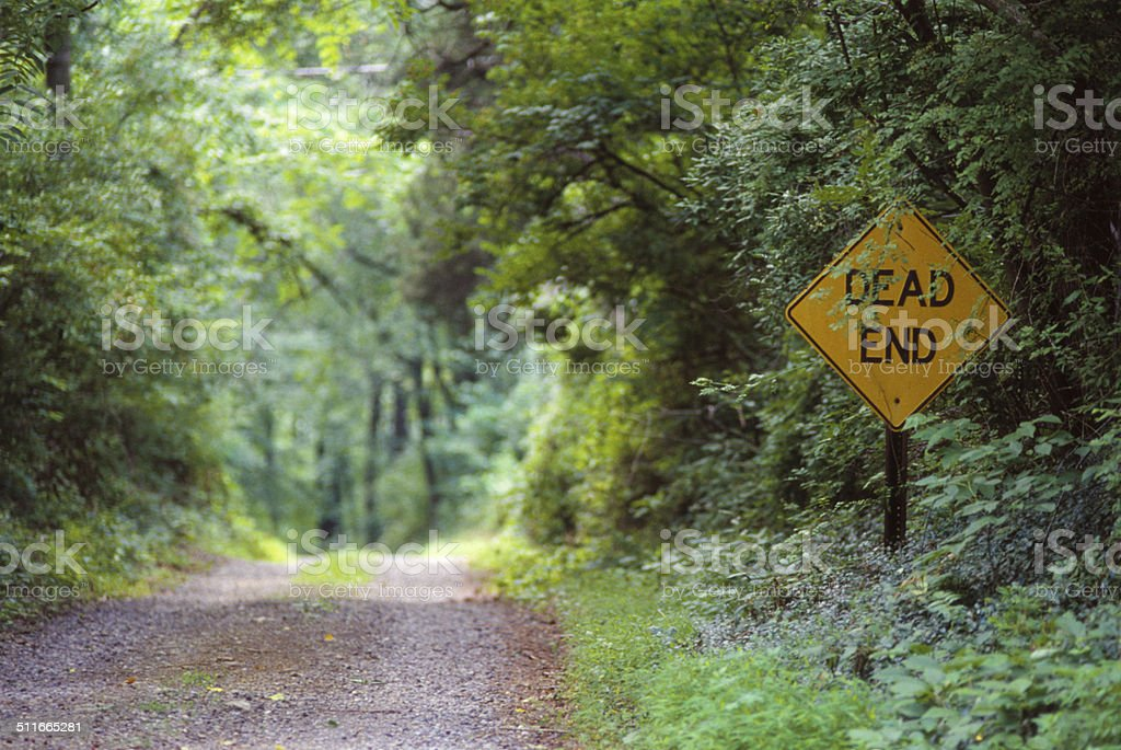 Not So Dead End stock photo