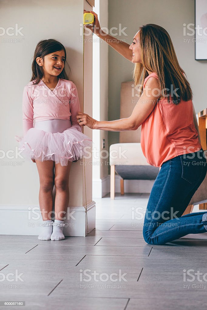 Not so little Ballerina! stock photo