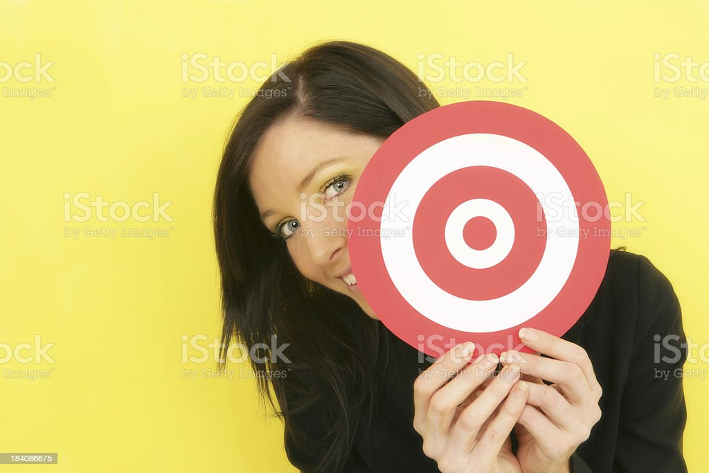 Not Targeted royalty-free stock photo