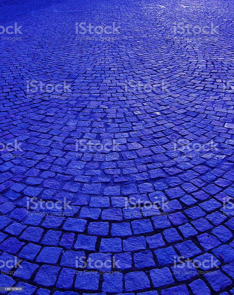 Not The Yellow Brick Road! royalty-free stock photo