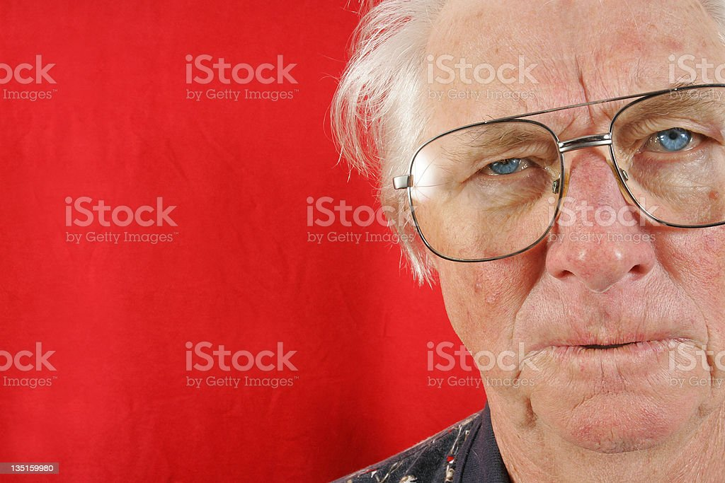 Not very impressed royalty-free stock photo