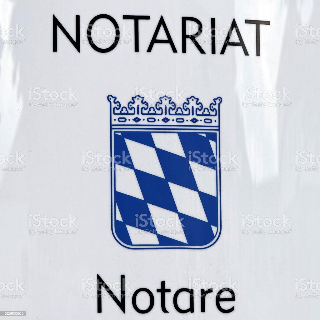 notary - Notar stock photo