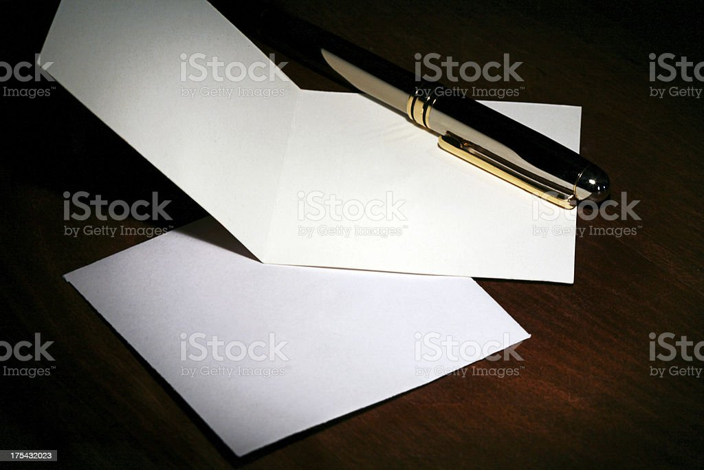 Note Blank royalty-free stock photo