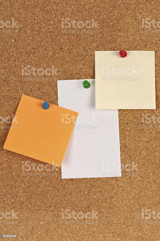 Note board royalty-free stock photo