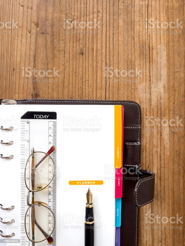 note book paper stock photo