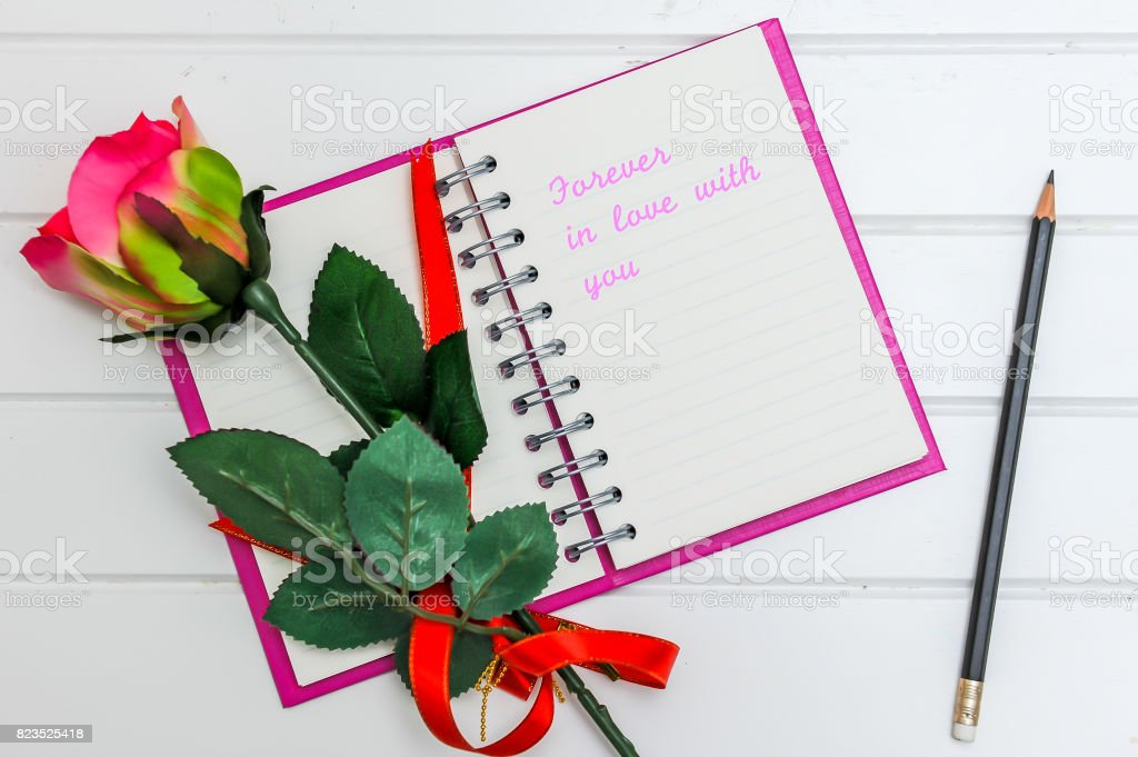 Note book stock photo