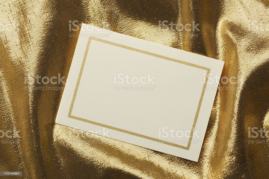 Note Card stock photo