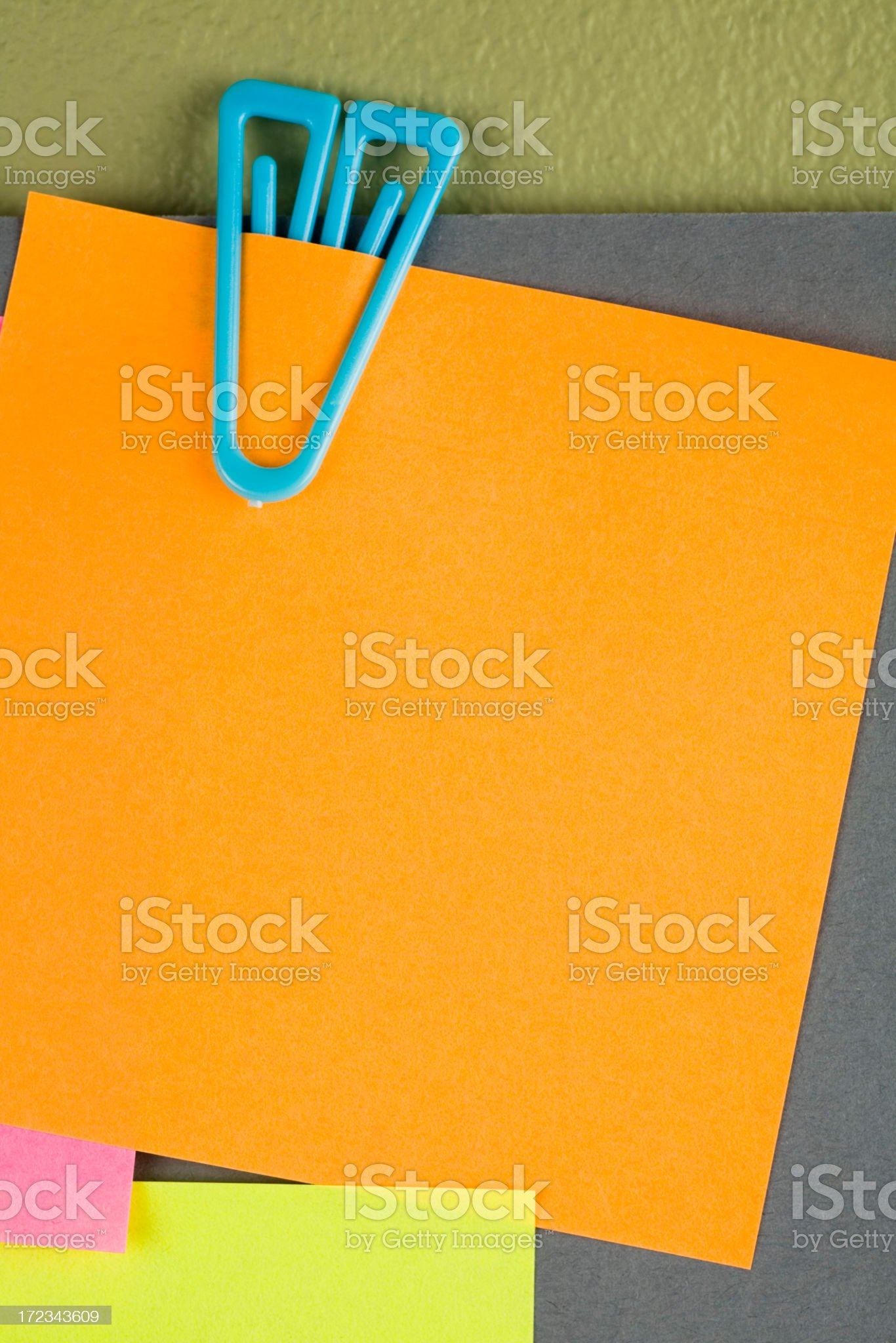 Note close up royalty-free stock photo