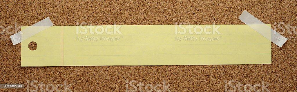 Note pad stripe royalty-free stock photo