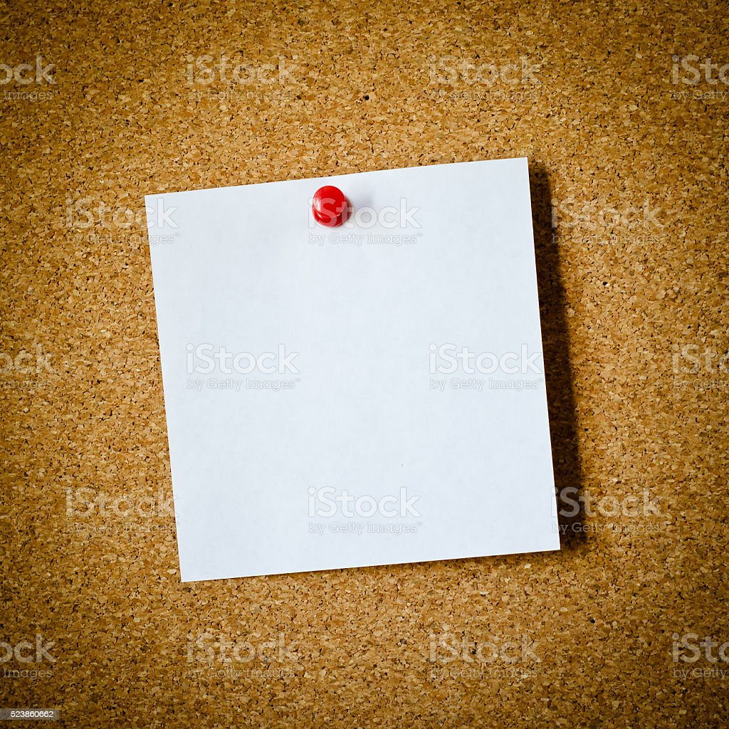 note paper stock photo