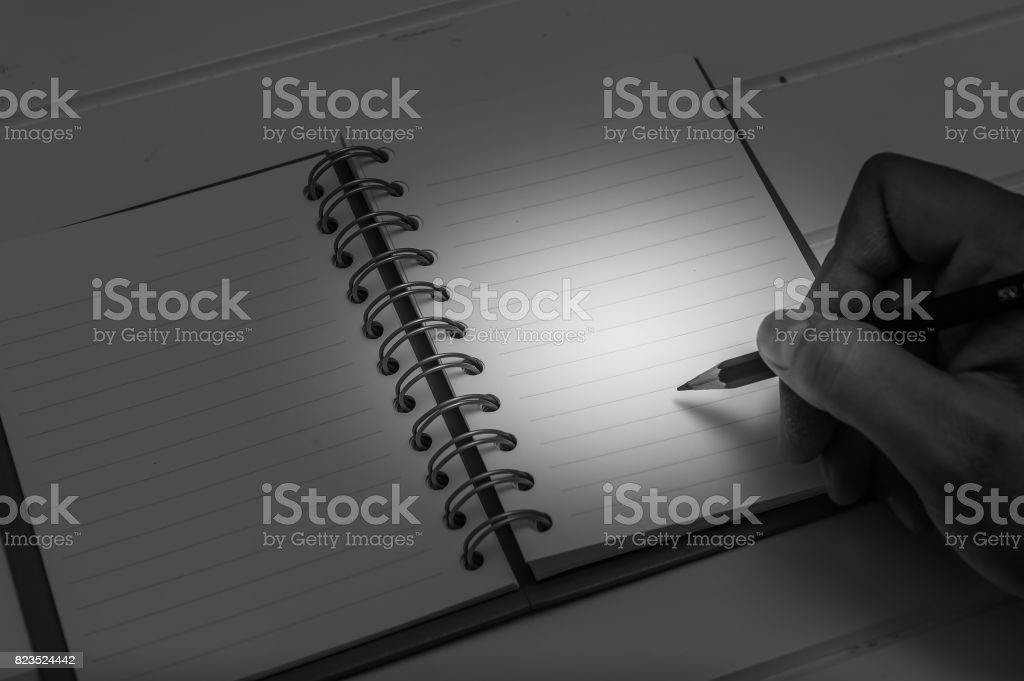 Note that blank space stock photo