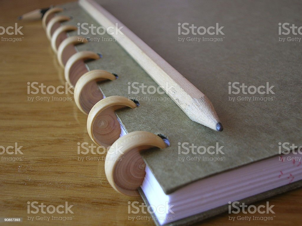 Notebook 3 royalty-free stock photo