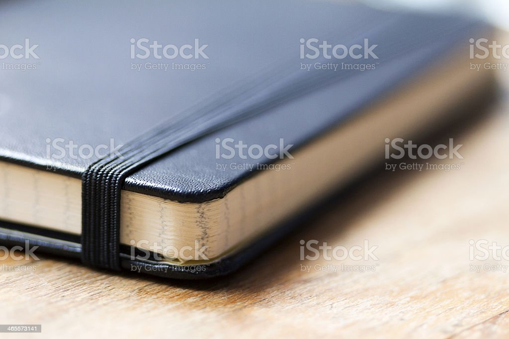 Notebook close up royalty-free stock photo