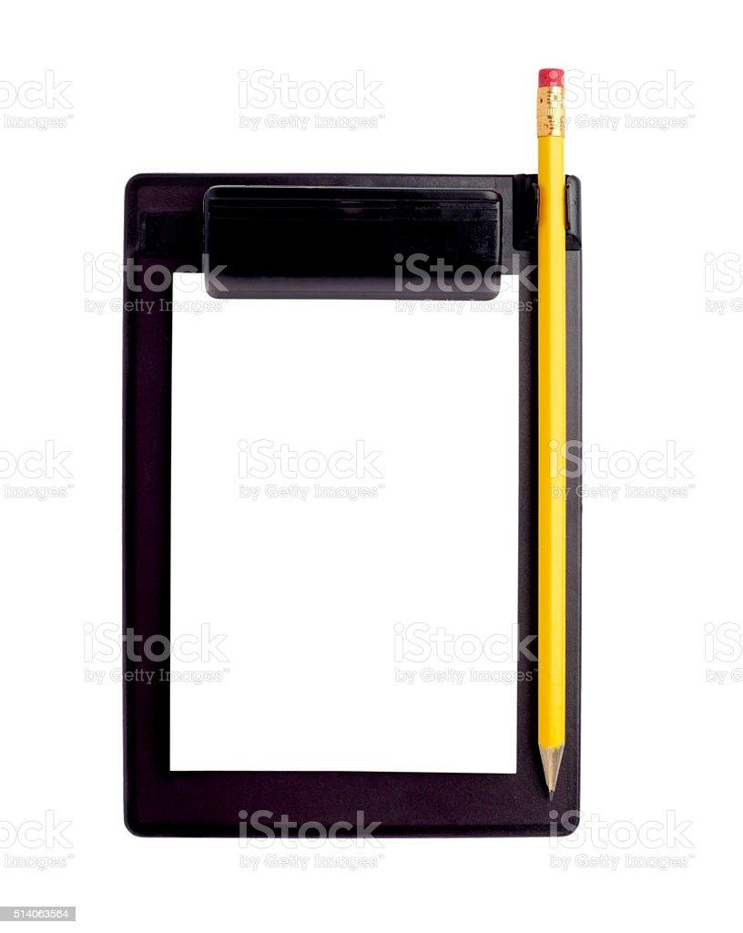 notebook empty stock photo