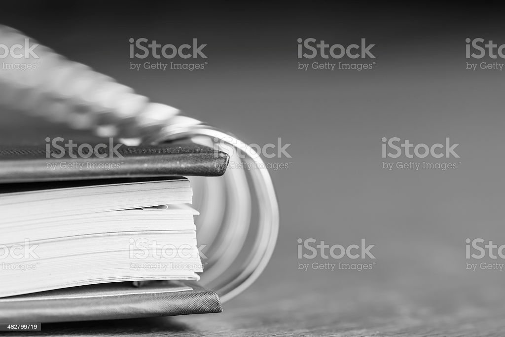 notebook have Ring Binder stock photo