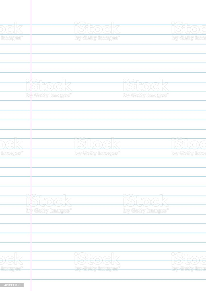 notebook paper background stock photo