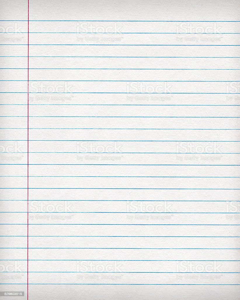 Notebook Paper Background stock photo 529803515 | iStock