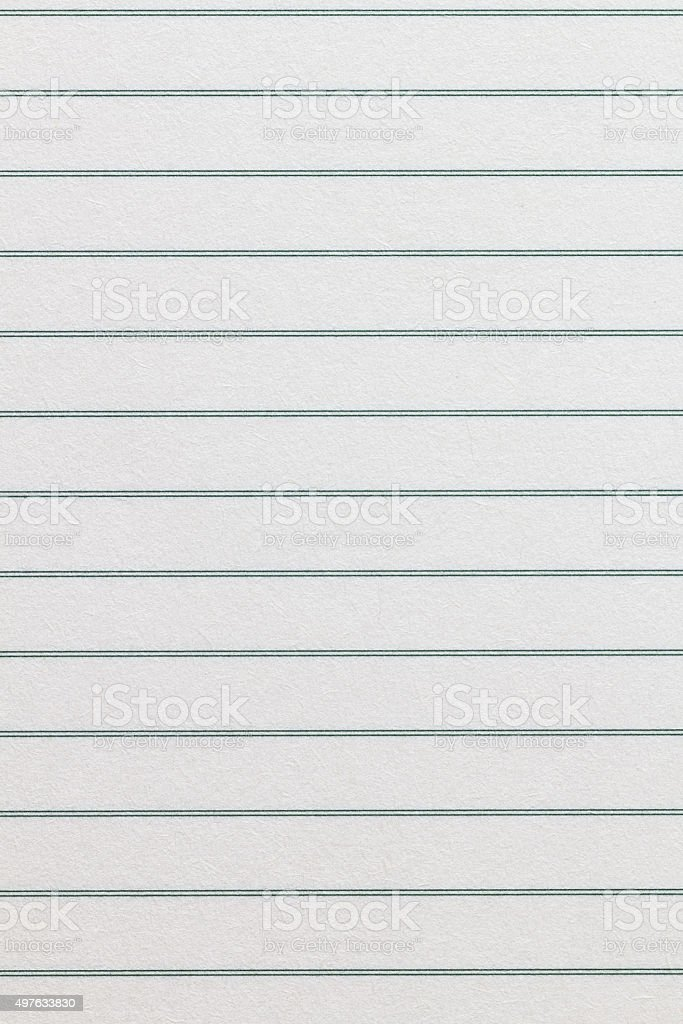 Notebook paper texture background stock photo