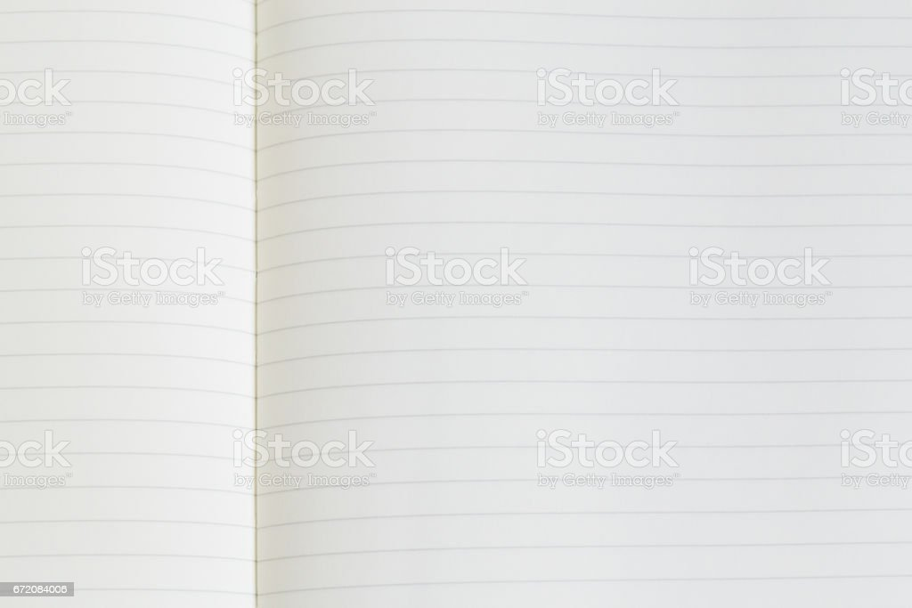 Notebook paper with lines stock photo