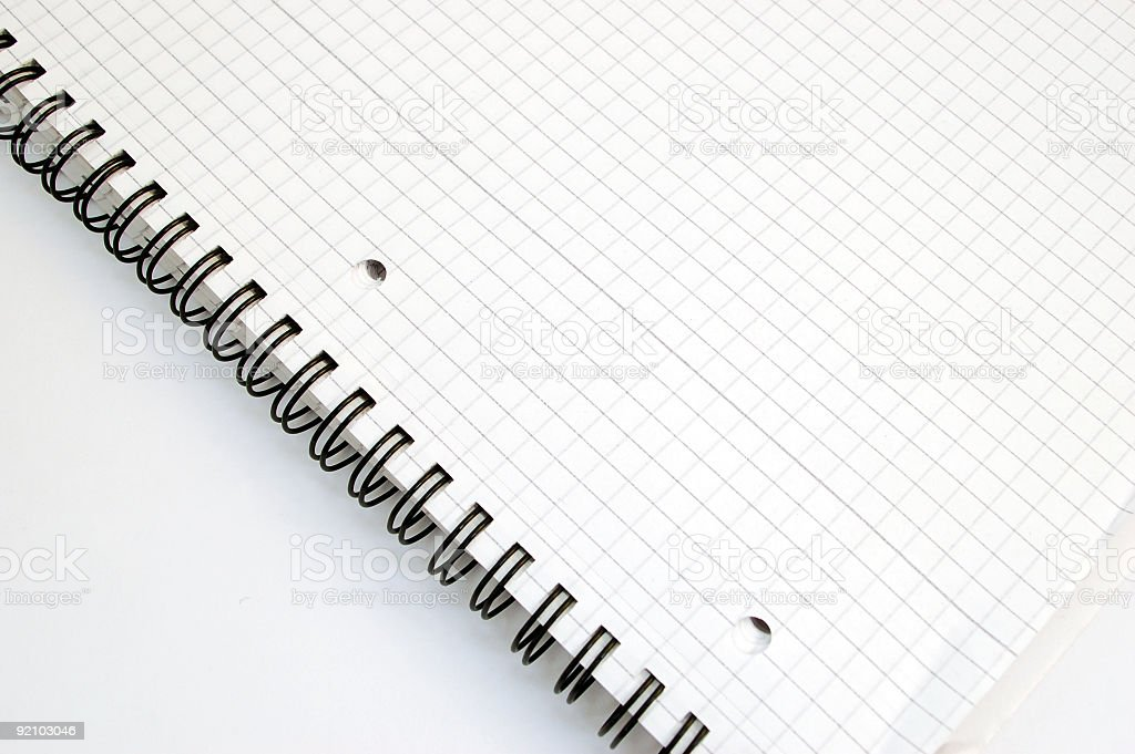 notebook #3 royalty-free stock photo
