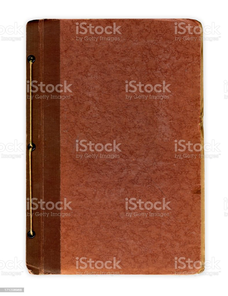 Notebook/Journal Cover stock photo