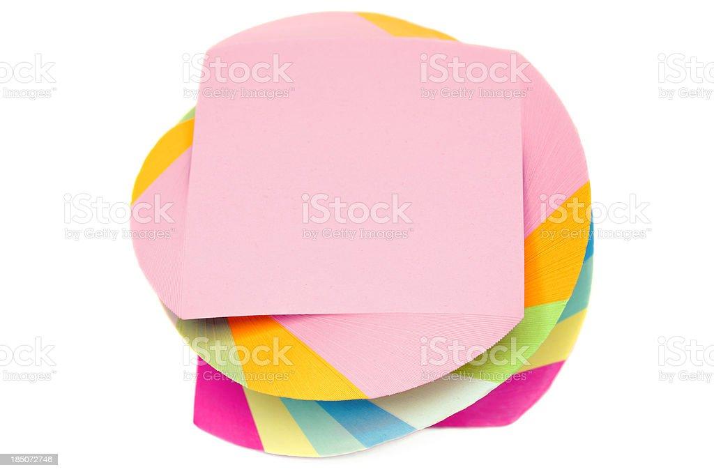 Notelet stock photo