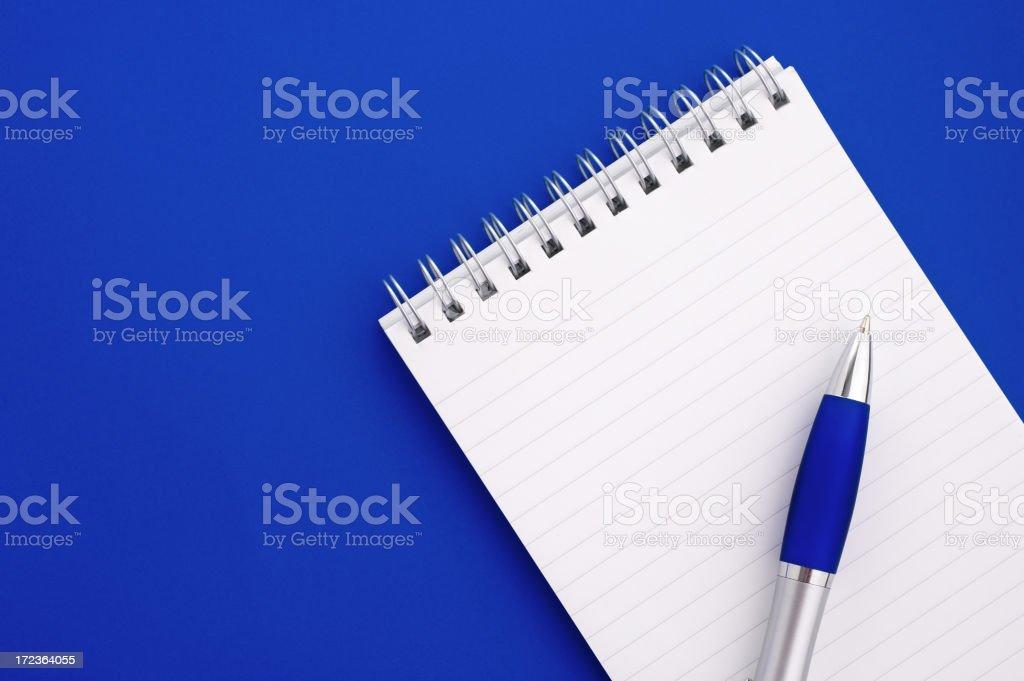 Notepad Background royalty-free stock photo