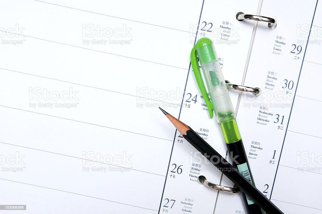 Notepad (XXL) stock photo