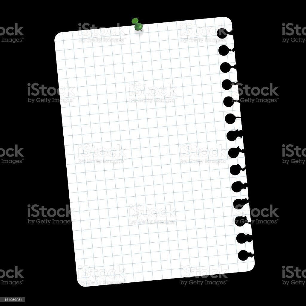 Notepad stock photo
