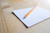 Notepaper and Pencil