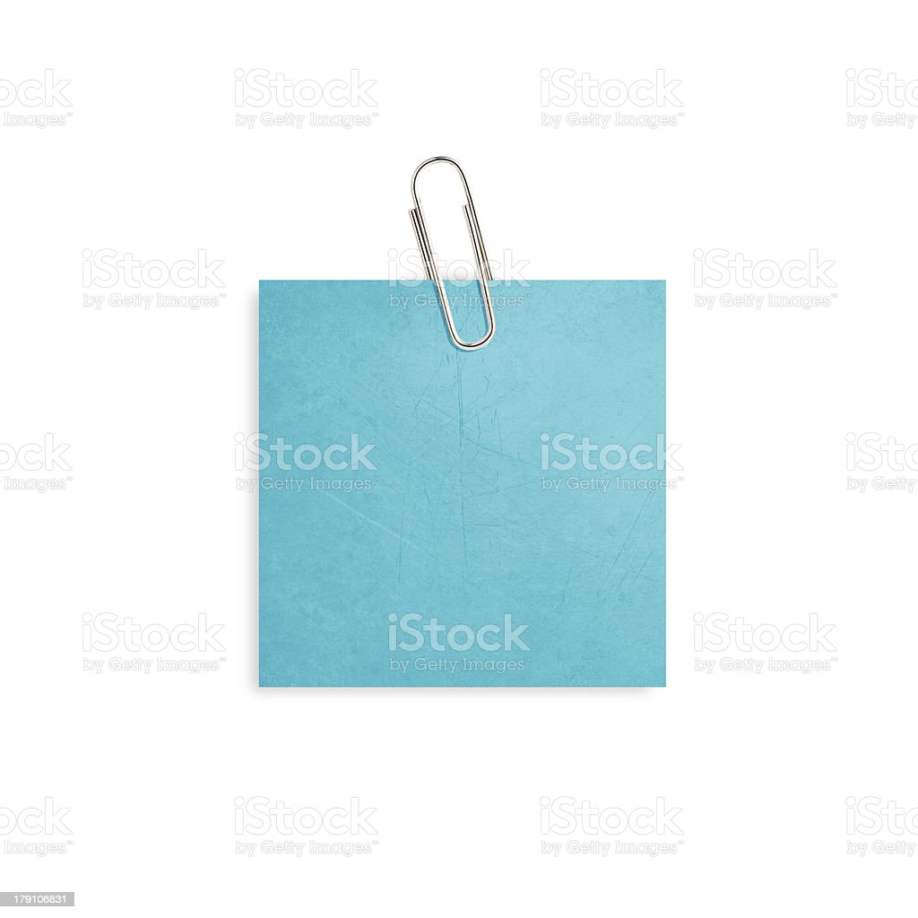 Notepaper royalty-free stock photo