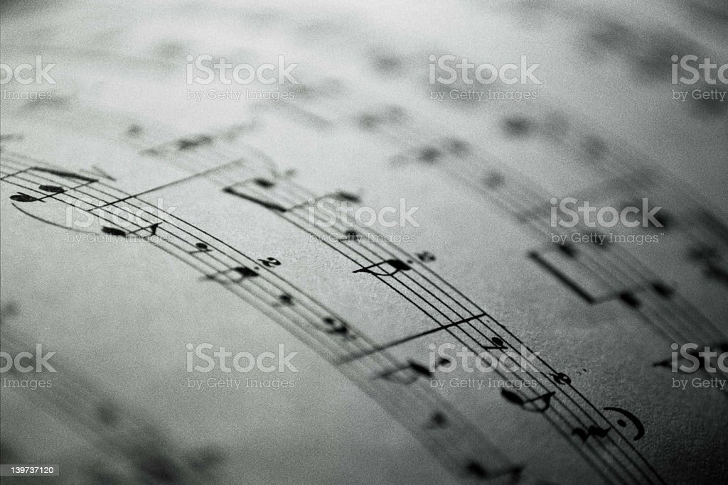 Notes royalty-free stock photo