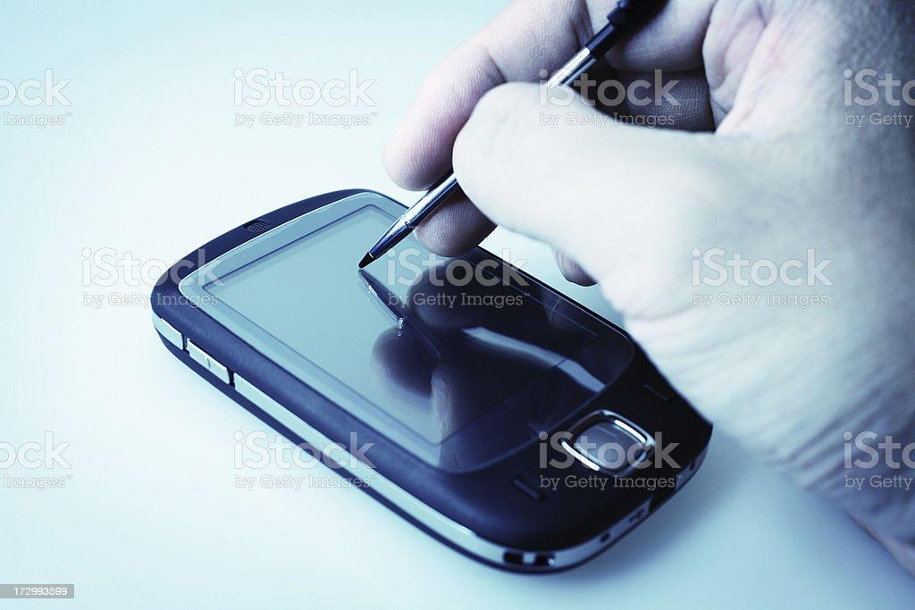 PDA Notes royalty-free stock photo