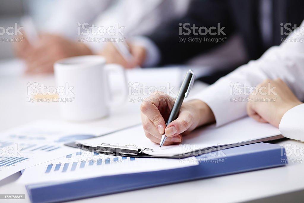 Notes royalty-free stock photo